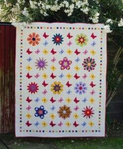 flower quilt patchwork
