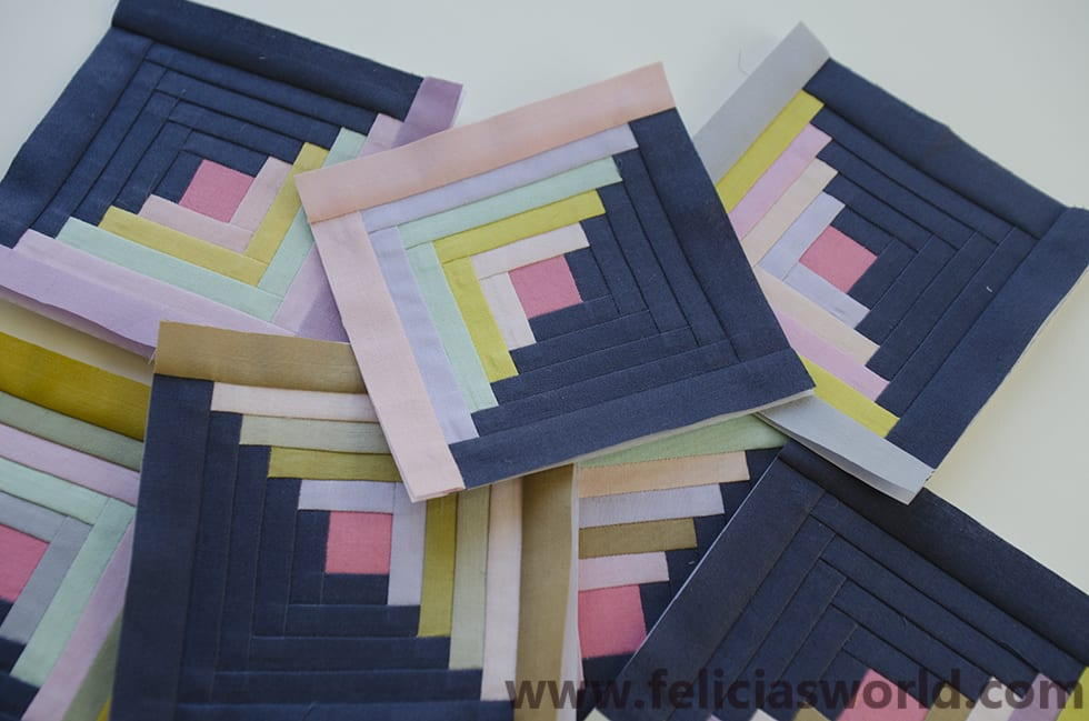 Paper Piecing Quilt Patterns Log Cabin : paper piecing templates. Log cabin templates Felicia s World