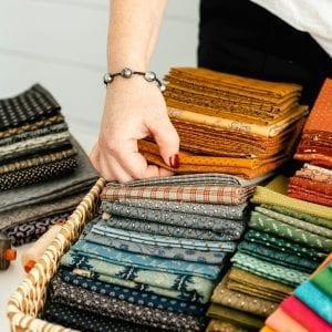 Log cabin fabric