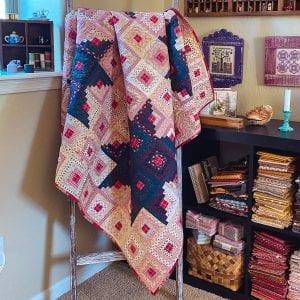 star log cabin quilt