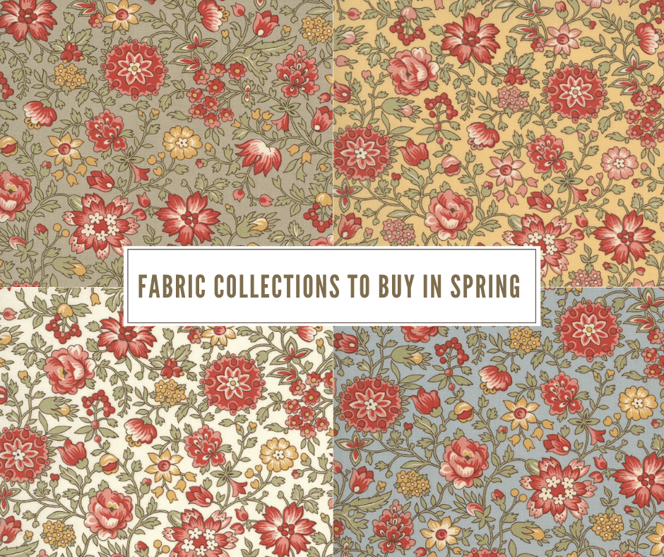 fabric for spring quilts